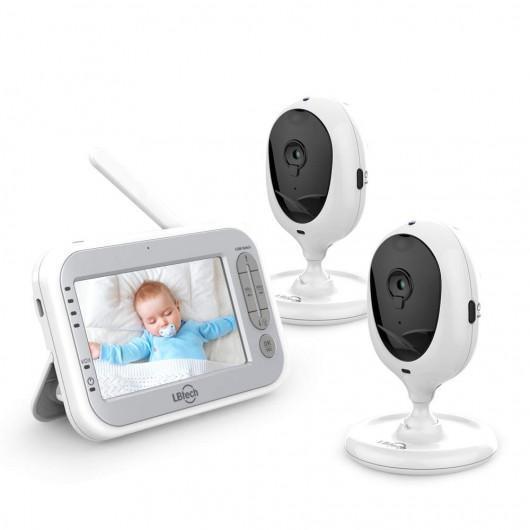 LBtech Video Baby Monitor , le moniteur pour bébé avec 2 cameras