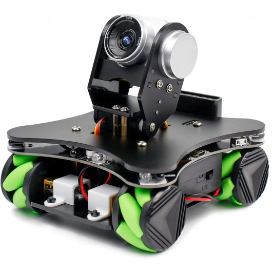 Yahboom Omniduino, la mini voiture robot omnidirectionnelle
