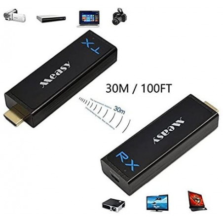 Measy W2H Nano, the HDMI extender