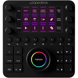 Loupedeck Creative Tool, the professional creativity console