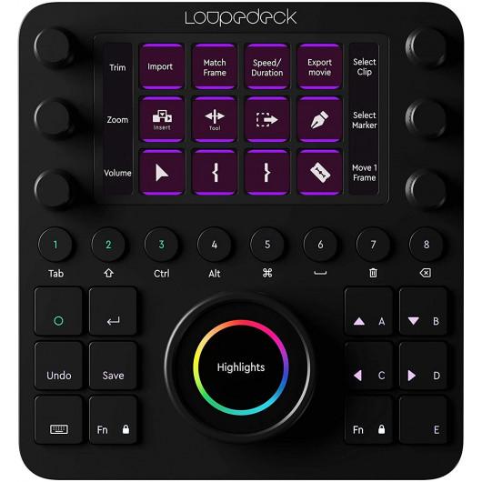 Loupedeck Creative Tool, the professional creativity console
