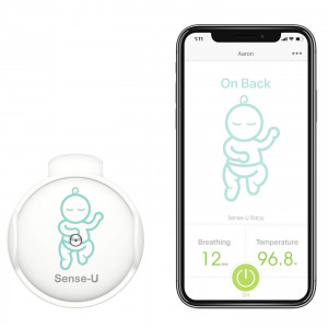 Sense-U, the smart button that watch your baby