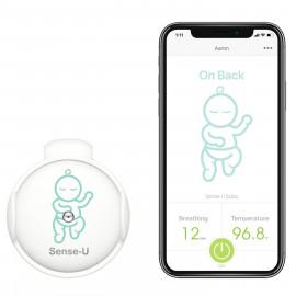 Sense-U, le bouton connecté qui surveille votre bébé
