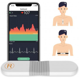 Viatom heart rate monitor, the ECG for athletes