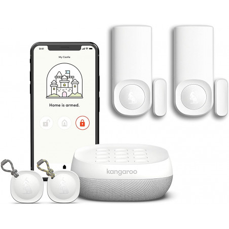 Kangaroo 5-piece Kit, the complete security for your home