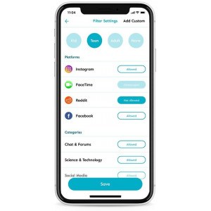 Circle Home Plus, the easy parental control