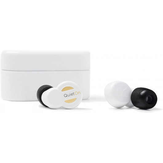 QuietOn, the rechargeable earbuds