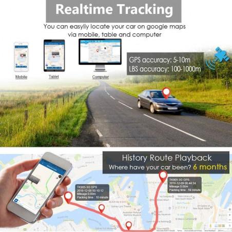 TKSTAR TK905, the real-time GPS Tracker