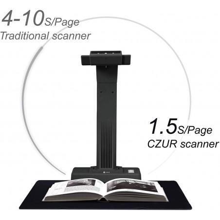 CZUR ET16 Plus, overhead scanner