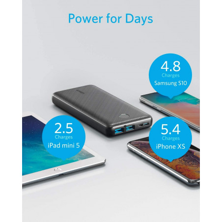 Anker PowerCore Essential 20000, portable power