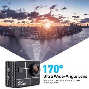 Gnolkee 4K, the Wi-Fi action camera