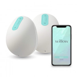Willow 24mm, the mobile breast pump