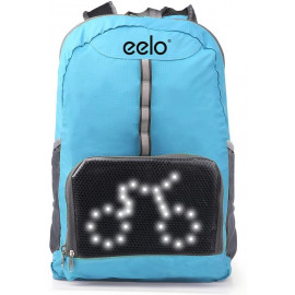 eelo Cyglo, the LED indicator bag for cyclists