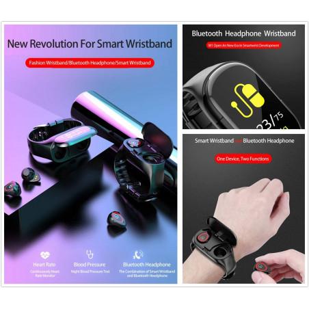 M1 2 in 1 Smart Bracelet, the 2 in 1 Smart Bracelet