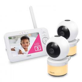 VTech VM5463-2, the 5'' screen baby monitor