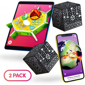Merge Cube 2 Pack, learn with 3D digital objects