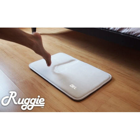 Ruggie Alarm Clock, the rug that wakes you up