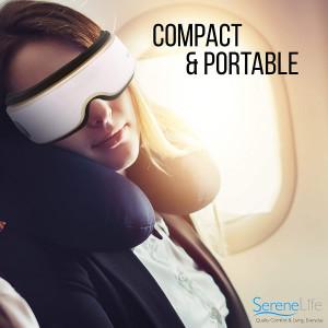 SereneLife SLEYMSG55, the massage helmet for your eyes