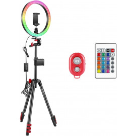 Neewer 12-inch RGB Ring Light, for more light