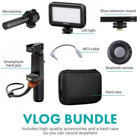 Movo V7, the complete kit for Vlogeur