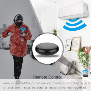 MOES Ufo-R1, all devices connected to your smartphone
