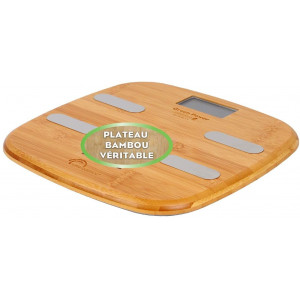 Fitdays Connect Bambou, the rechargeable scale