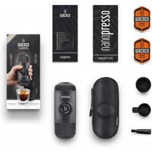 Wacaco Nanopresso, the mini coffee machine