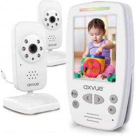 AXVUE E662, 2 cameras for large surveillance