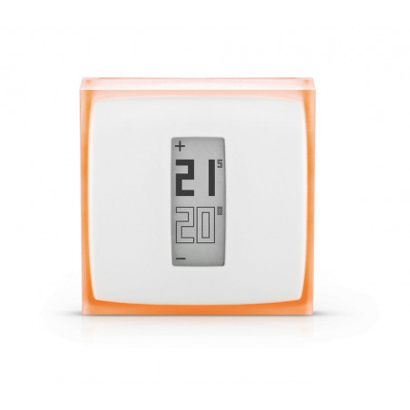Netatmo thermostat connected, save 37% energy.