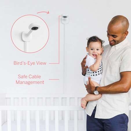 Nanit Pro Monitor and Floor Stand, the baby monitor with floor stand