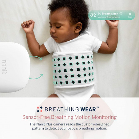 Nanit Pro Complete Monitoring System, the complete system to monitor your baby
