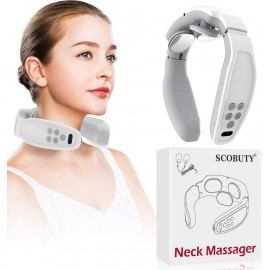 SCOBUTY Neck Massager, 6 massages modes for your neck