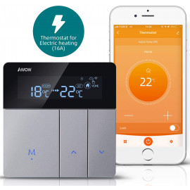 Awow Smart Home Thermostat, the smart Wi-Fi thermostat