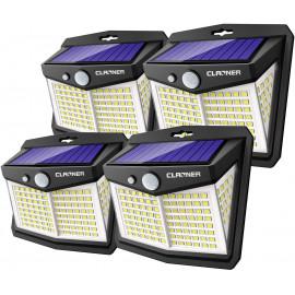 Claoner Solar Lights, the motion sensor street lights