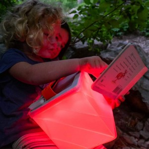 LuminAID Titan, the 2-in-1 camping lantern