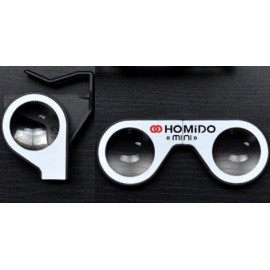 Homido mini, the virtual reality headset for smartphones.