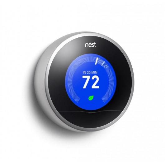 Nest Learning ,controlez votre thermostat !