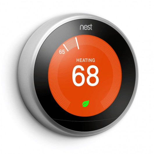 Nest Learning, the right temperature !