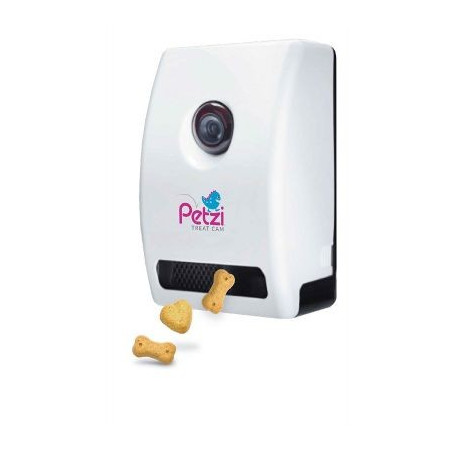 Petzi, the connected smart treat dispenser
