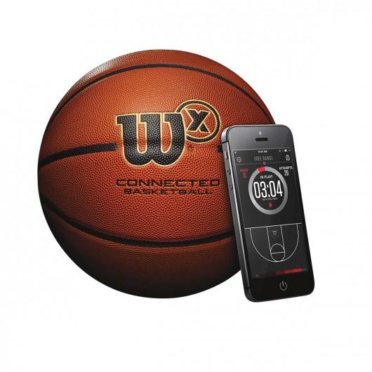 Wilson X Connected, le ballon de basket connecté