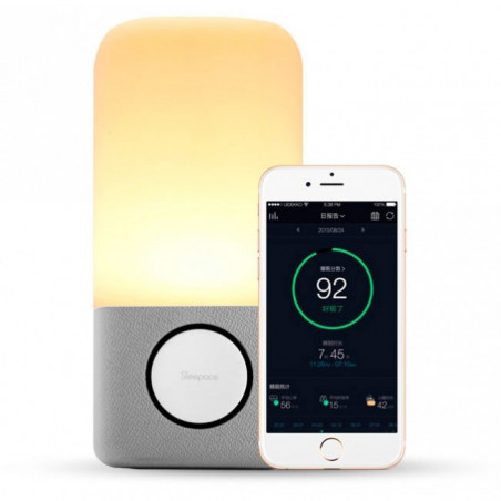 Nox Music, a light that help you to fall asleep