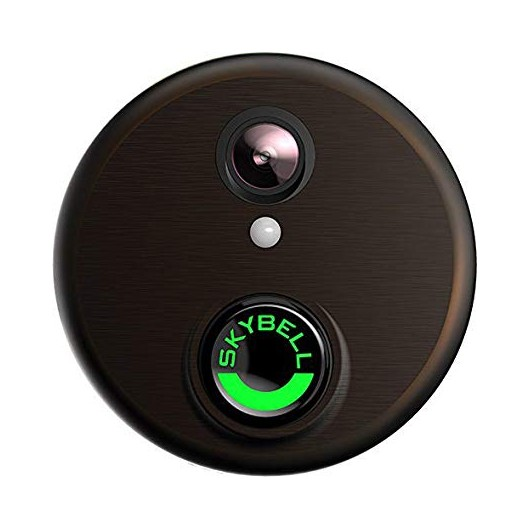 SkyBell, a connected classic doorbell