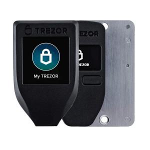 Trezor One, Bitcoin and Cryptocurrency wallet
