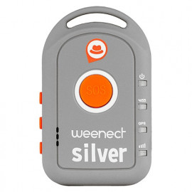 Balise GPS Weenect Silver Pour Seniors