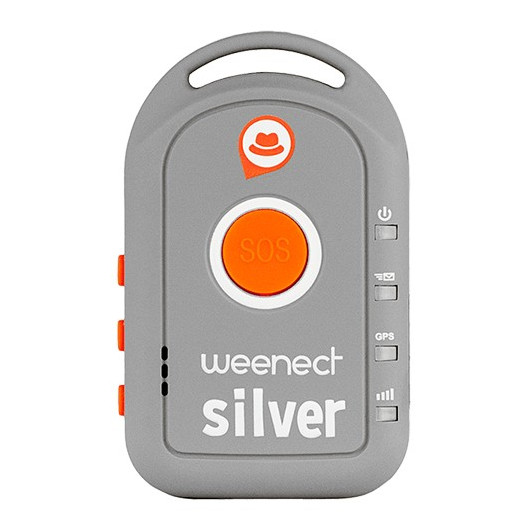 Balise GPS Weenect Silver Pour Seniors