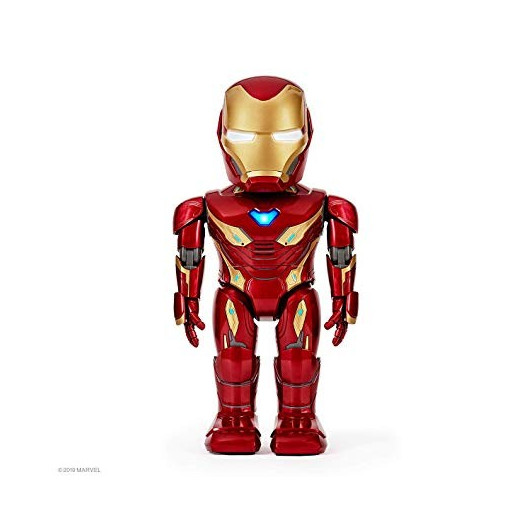 Iron Man, a robot for Marvel fans