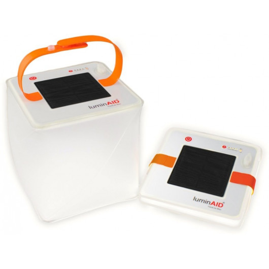 PackLite Max, phone charger and solar lantern