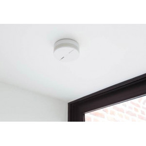 Nenatmo smart smoke detector, protects your home night and day