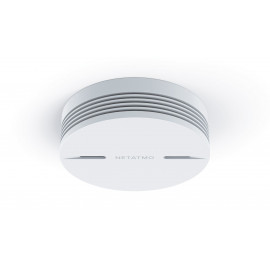 Netatmo smart smoke detector, protects your home night and day