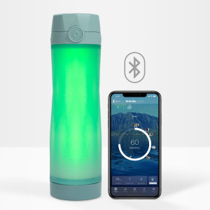 Hidrate Spark, the smart water bottle connected to you.